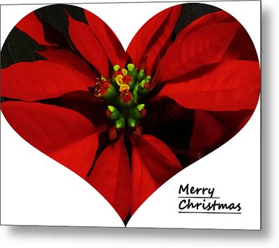 Merry Christmas All Metal Print