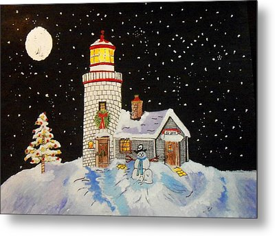 Merry Christmas  Metal Print by Connie Valasco