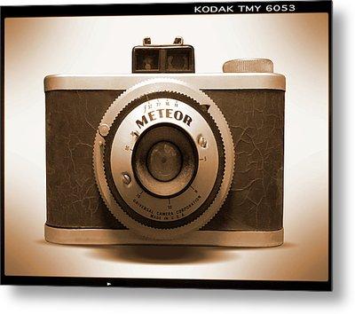 Meteor Film Camera Metal Print by Mike McGlothlen