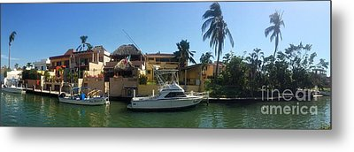 Metal Print featuring the photograph Mexico Memories 5 by Victor K