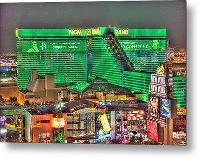 Mgm Grand Las Vegas Metal Print
