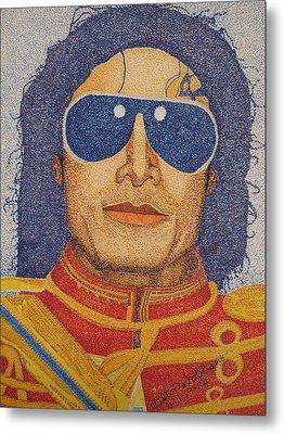 Michael Jackson Metal Print by Clifton Dobbs