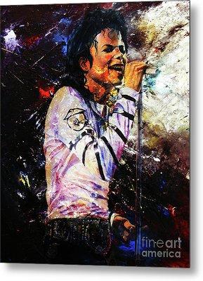 Michael Jackson  Metal Print by Gull G