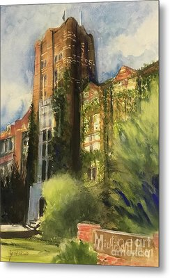 Michigan Union Metal Print by Yoshiko Mishina