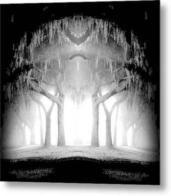 Midnight In My Mind Metal Print