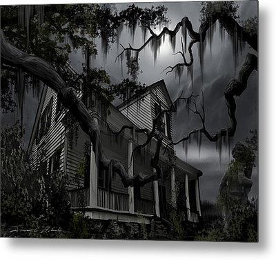 Midnight In The House Metal Print