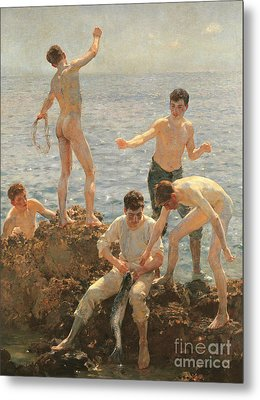 Midsummer Morning, 1908 Metal Print