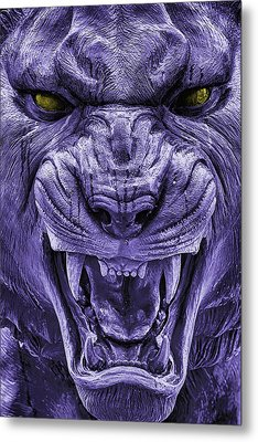 Mike In Purple And Gold Metal Print by JC Findley