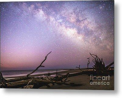Milky Way Roots Metal Print by Robert Loe