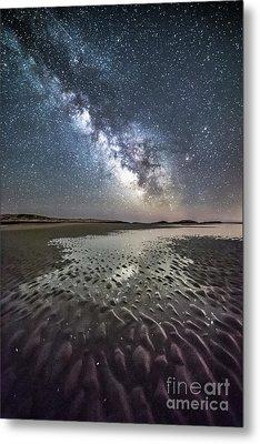 Milky Way Tide Pool Metal Print by Benjamin Williamson