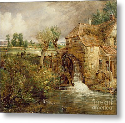 Mill At Gillingham - Dorset Metal Print by John Constable