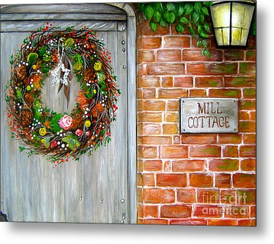 Mill Cottage Metal Print by Patrice Torrillo