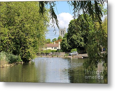 Mill Dam,tickhill Metal Print