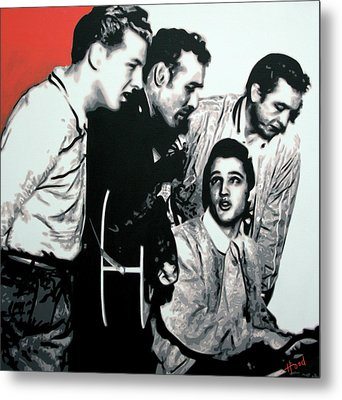 Million Dollar Quartet Metal Print