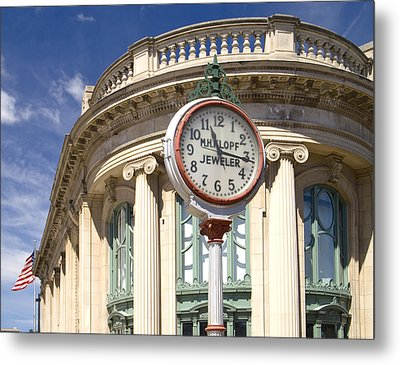 Metal Print featuring the photograph Milwaukee Historical Society by Peter Skiba