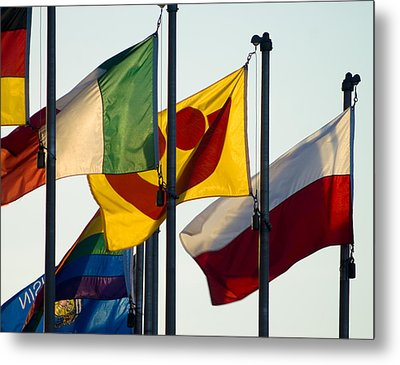 Metal Print featuring the photograph Milwaukee's Polish Fest by Peter Skiba