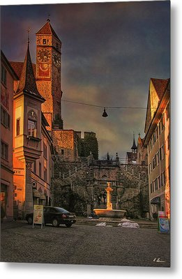 Metal Print featuring the photograph Main Square by Hanny Heim