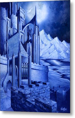 Minas Tirith Metal Print by Curtiss Shaffer