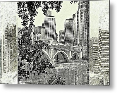 Minneapolis Vision Metal Print by Susan Stone