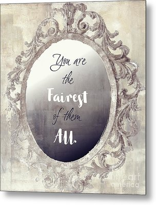 Mirror Mirror On The Wall Metal Print by Mindy Sommers
