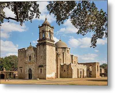 Metal Print featuring the photograph Mission San Jose by Mary Jo Allen