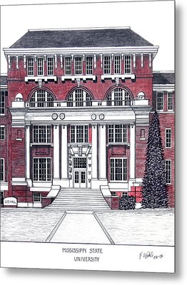 Mississippi State University Metal Print