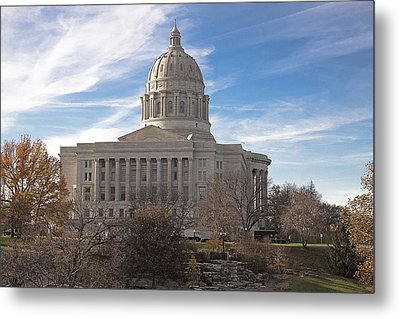 Missouri Capital Metal Print