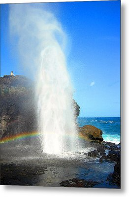 Mists Of Nakalele Metal Print