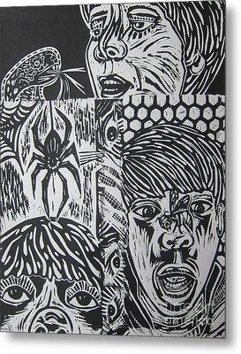 Mixed Print 2 Metal Print