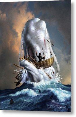 Moby Dick 1 Metal Print