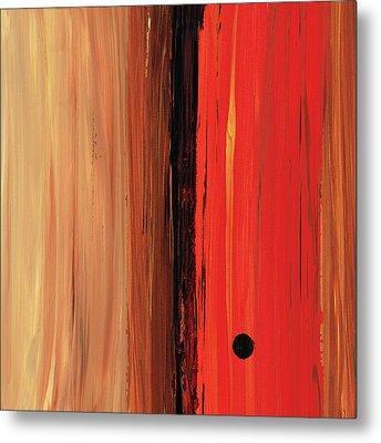 Modern Art - The Power Of One Panel 1 - Sharon Cummings Metal Print by Sharon Cummings