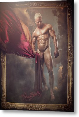 Modern Baroque Male Metal Print