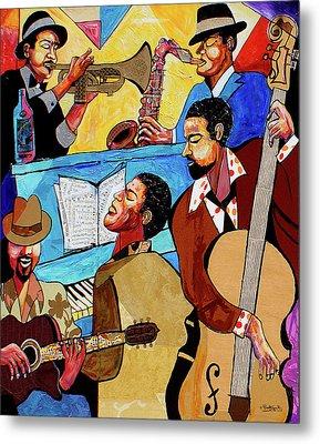 Modern Jazz Quintet Side A Metal Print