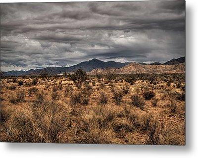 Mojave Landscape 001 Metal Print