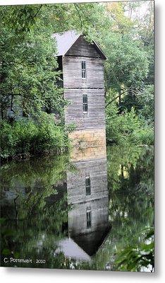 Mollohan Mill 3 Metal Print by Carolyn Postelwait