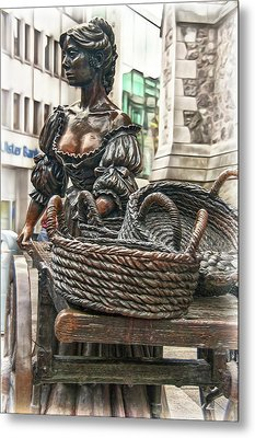 Metal Print featuring the photograph Molly Malone by Hanny Heim