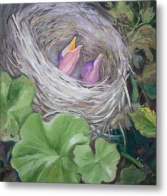 MOM Metal Print by Irene Corey