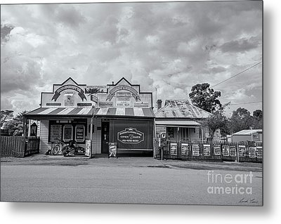 Metal Print featuring the photograph Monegeetta General Store by Linda Lees