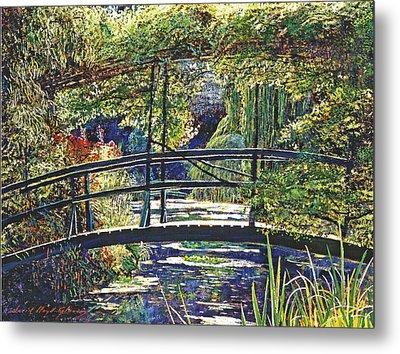 Monet Metal Print by David Lloyd Glover
