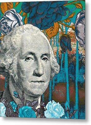 Money For Nothing Metal Print by Ricki Mountain