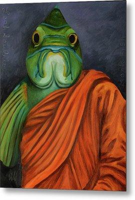 Monk Fish Metal Print