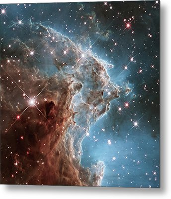 Metal Print featuring the photograph Monkey Head Nebula by Marco Oliveira