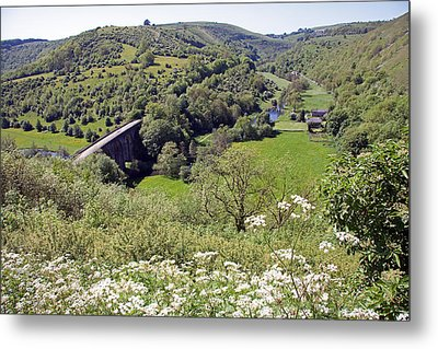 Monsal Head Metal Print