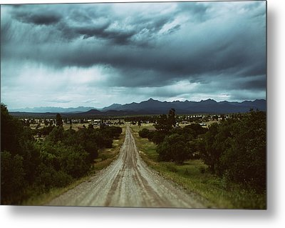 Monsoons From The Meadows Metal Print by Jason Coward