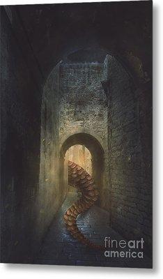 Monster In Paris Metal Print