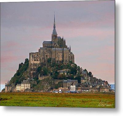 Mont Saint Michel Metal Print by Diana Haronis
