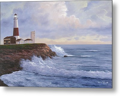 Montauk Point Lighthouse Metal Print