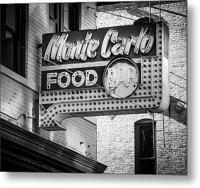 Monte Carlo Food Metal Print by Perry Webster