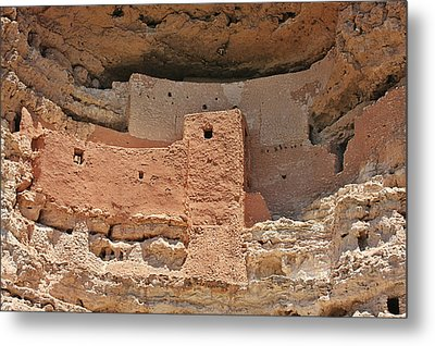 Montezuma Castle - Special In It's Own Way Metal Print by Christine Till