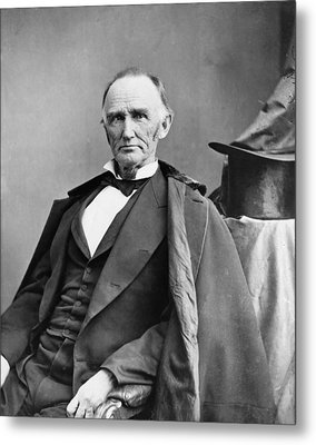 Montgomery Blair 1813-1883 Was Among Metal Print by Everett